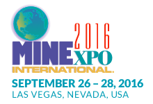 MineExpo 2016 Logo For Press Releases About Hand Protection